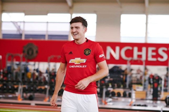 Harry Maguire is ready to make his Manchester United debut against Chelsea