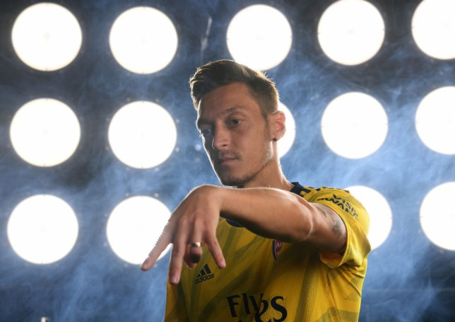 Mesut Ozil is yet to feature for Arsenal in the Premier League so far this season