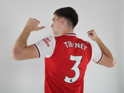 Kieran Tierney provides fitness update after completing Arsenal transfer