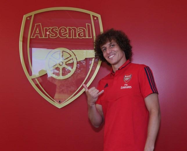 Arsenal signed David Luiz from Chelsea on deadline day
