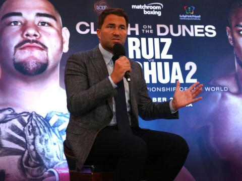 Eddie Hearn has warnings for Anthony Joshua and Andy Ruiz ahead of Saudi Arabia rematch