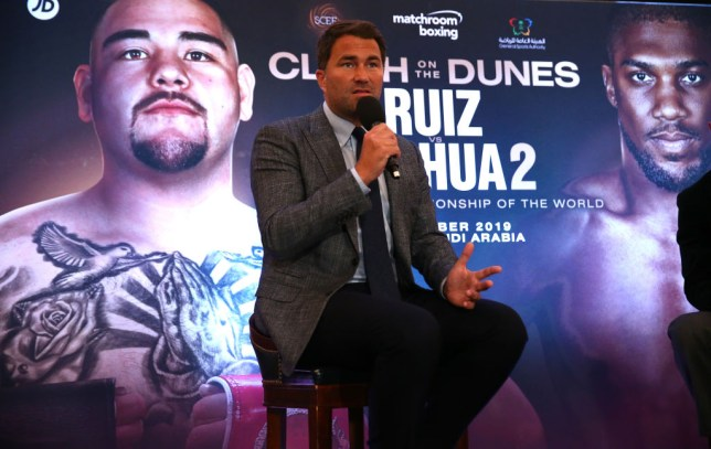 Eddie Hearn shoots dead claims Andy Ruiz Jr is refusing to sign contract for Anthony Joshua rematch