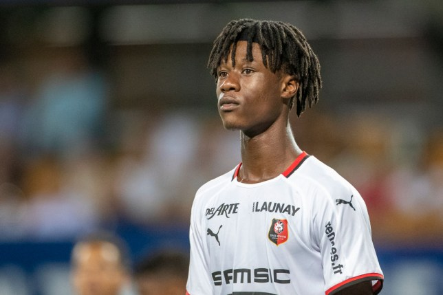 Arsenal and Spurs had offers rejected for Rennes' Eduardo Camavinga this summer