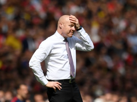 Sean Dyche bemoans the state of football after Burnley lose to Arsenal