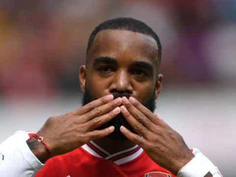 Alexandre Lacazette sends a warning to the Premier League after opening his Arsenal account against Burnley