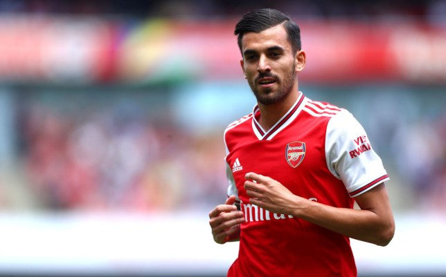 Dani Ceballos was Arsenal's man of the match against Burnley last weekend