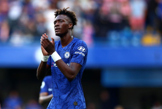 Tammy Abraham was back in action on Sunday