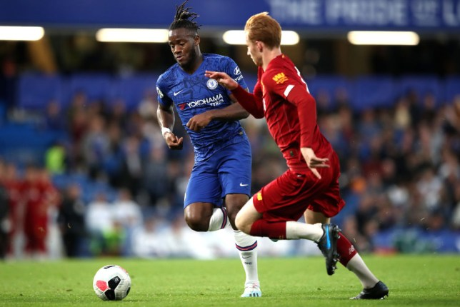 Michy Batshuayi scored twice for Chelsea's development squad against Liverpool on Monday