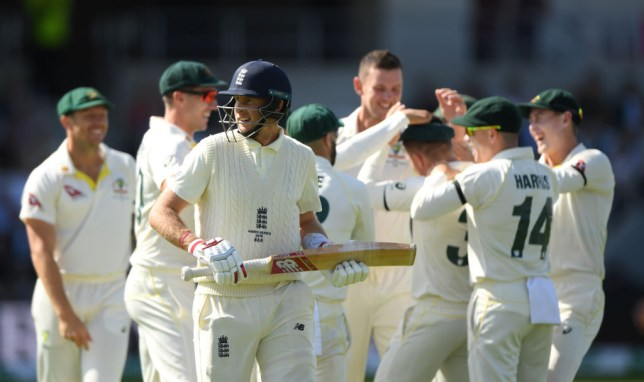 England suffered another batting collapse in the third Ashes Test