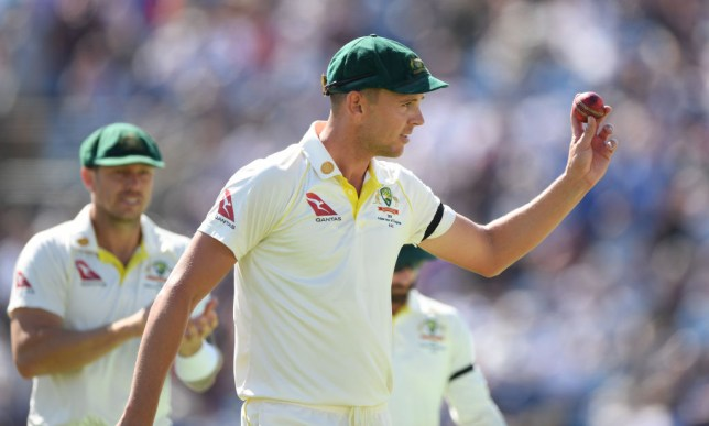 Josh Hazlewood helped Australia skittle England out for 67 in the third Ashes Test