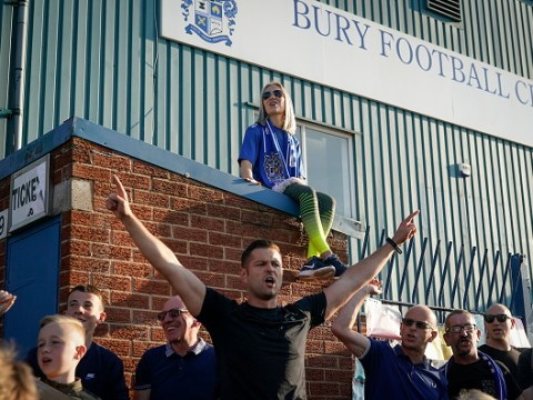 Why have Bury FC been expelled from the English Football League?