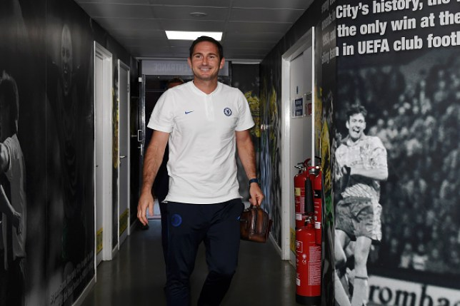 Chelsea manager Frank Lampard arrives at Norwich