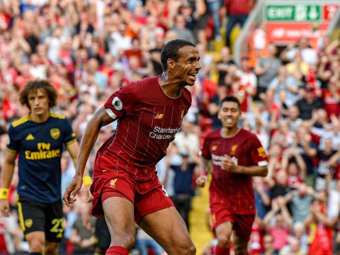 Liverpool's Joel Matip explains why Arsenal are 'really difficult' to play against