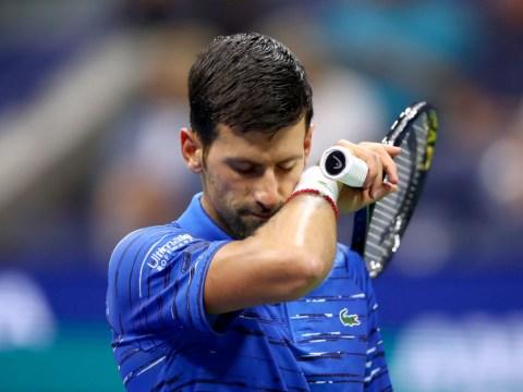 Novak Djokovic through despite injury and US Open fan row