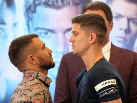 Anthony Joshua gives advice to Luke Campbell on how to beat Vasyl Lomachenko