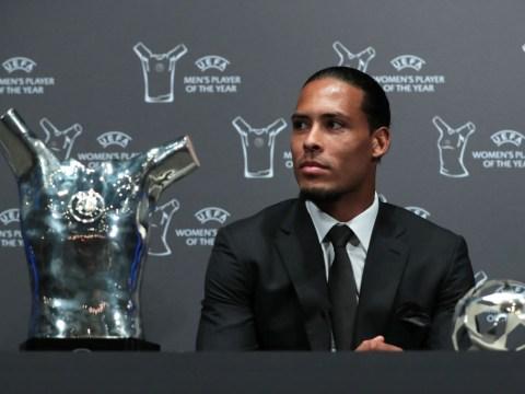 Man Utd legend Rio Ferdinand claims Liverpool star Virgil van Dijk did not deserve Champions League award