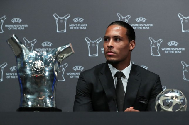 Virgil van Dijk beat Cristiano Ronaldo and Lionel Messi to the Champions League award