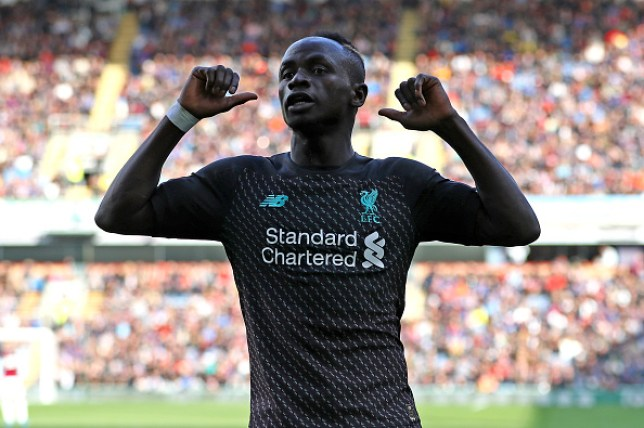 Sadio Mane scored Liverpool's second goal in their win at Burnley