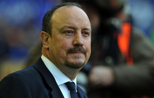 Rafa Benitez was in charge of Chelsea for just over six months