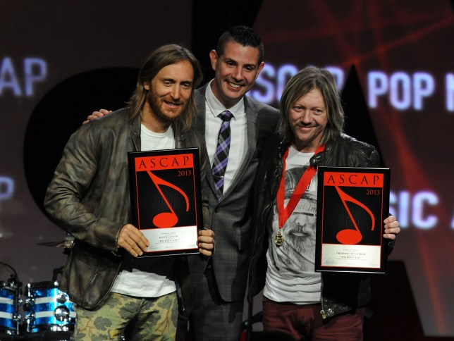 David Guetta and Fred Rister