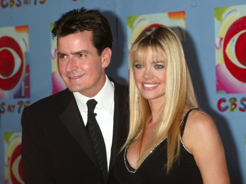 Denise Richards reveals ex Charlie Sheen once turned up to Thanksgiving with sex worker