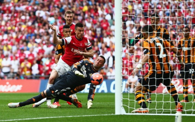 Laurent Koscielny went on strike to force through a move from Arsenal