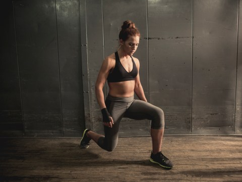 Daily Fitness Challenge: How many jumping lunges can you do?