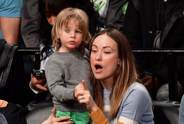 olivia wilde with her son otis