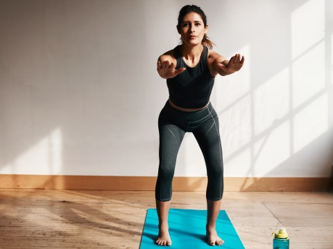 Daily Fitness Challenge: Can you do 100 squats throughout the day?