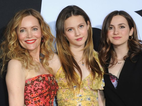 Leslie Mann proves celebrity parents are just as embarrassing as yours as she shades daughter Iris on Instagram