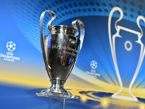 What are the pots for the Champions League group stage draw?