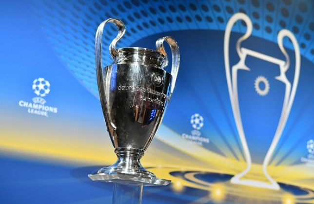 A picture of the Champions League trophy illustrating how to watch highlights of the competition on TV