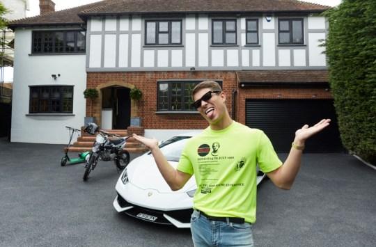 Joey Essex house MTV Cribs