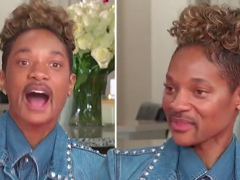 Will Smith pulls off a Face Swap with wife Jada Pinkett-Smith and it's terrifying but amazing