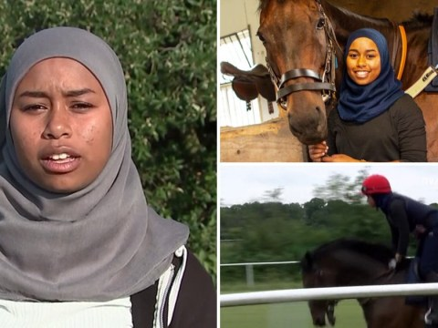 First jockey to race in hijab says 'I'm glad to represent Muslim women'