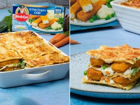 Birds Eye's fish finger lasagne gets a big nope from British folks