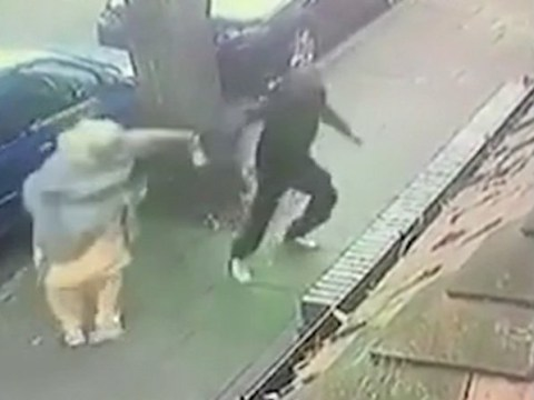 Elderly woman, 72, thrown to the floor in brutal daylight street mugging