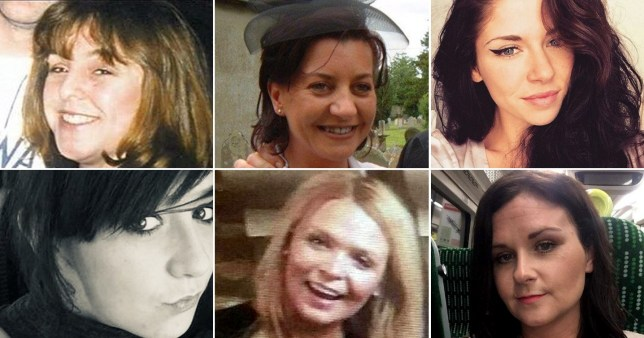 Women who have been killed by men during alleged 'sex games'