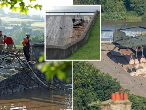 How will they stop the Whaley Bridge dam from collapsing?