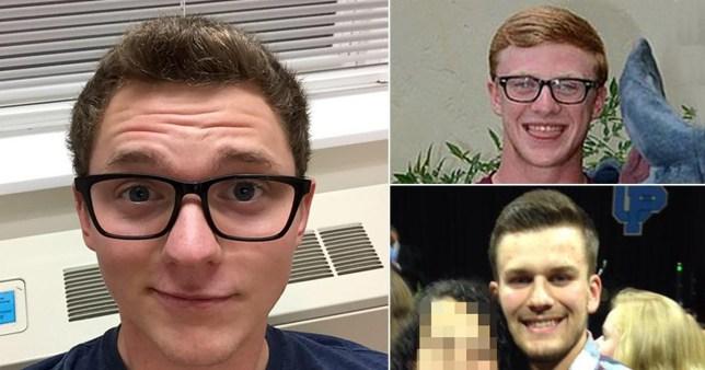 Brandon Grossheim and his victims Joshua Allen and Alex Mullins