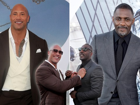 Dwayne Johnson is jealous of Idris Elba's Sexiest Man Alive title but they're both winners in our eyes
