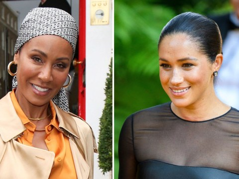 Jada Pinkett-Smith would love to host Meghan Markle on Red Table Talk so the royal can 'tell her story'