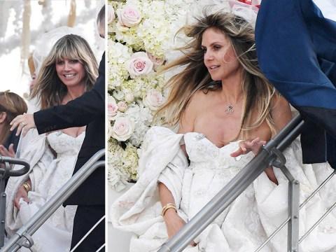 Heidi Klum marries Tom Kaulitz for second time in stunning Italian wedding