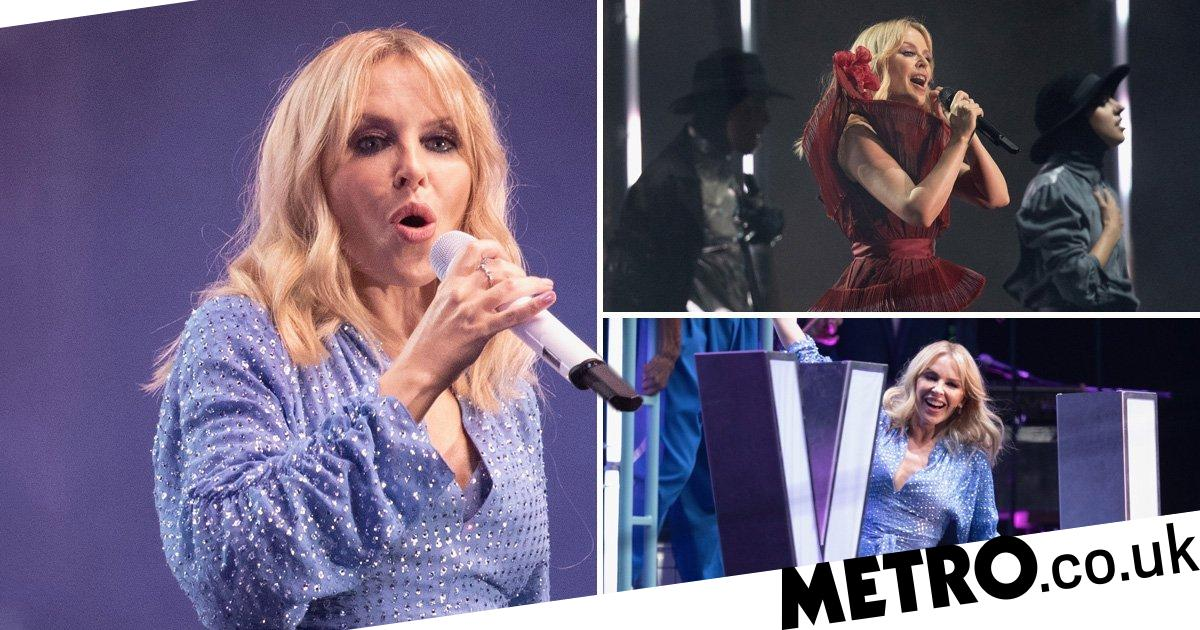 Kylie Minogue's performance at Brighton Pride was, of course, a hit
