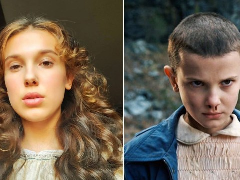 Millie Bobby Brown is worlds away from Eleven as she shows off new look for Enola Holmes role