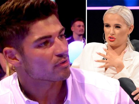 What happened between Anton and Molly-Mae on the Love Island reunion show?