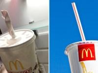 McDonalds neue Papierstrohe können nicht recycelt werden - die alten aus Kunststoff könnten es