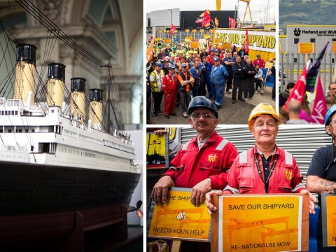 Shipyard that built Titanic and once employed 30,000 to go into administration