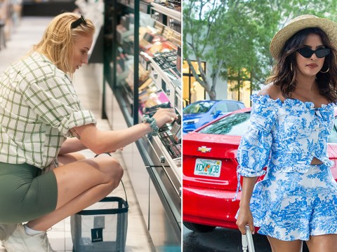 Sophie Turner and Priyanka Chopra hit Miami's make-up stores as they splash their cash