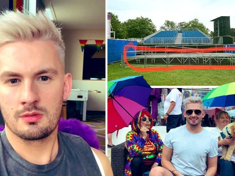 Disabled people forced to stay in 'access tent' during Brighton Pride